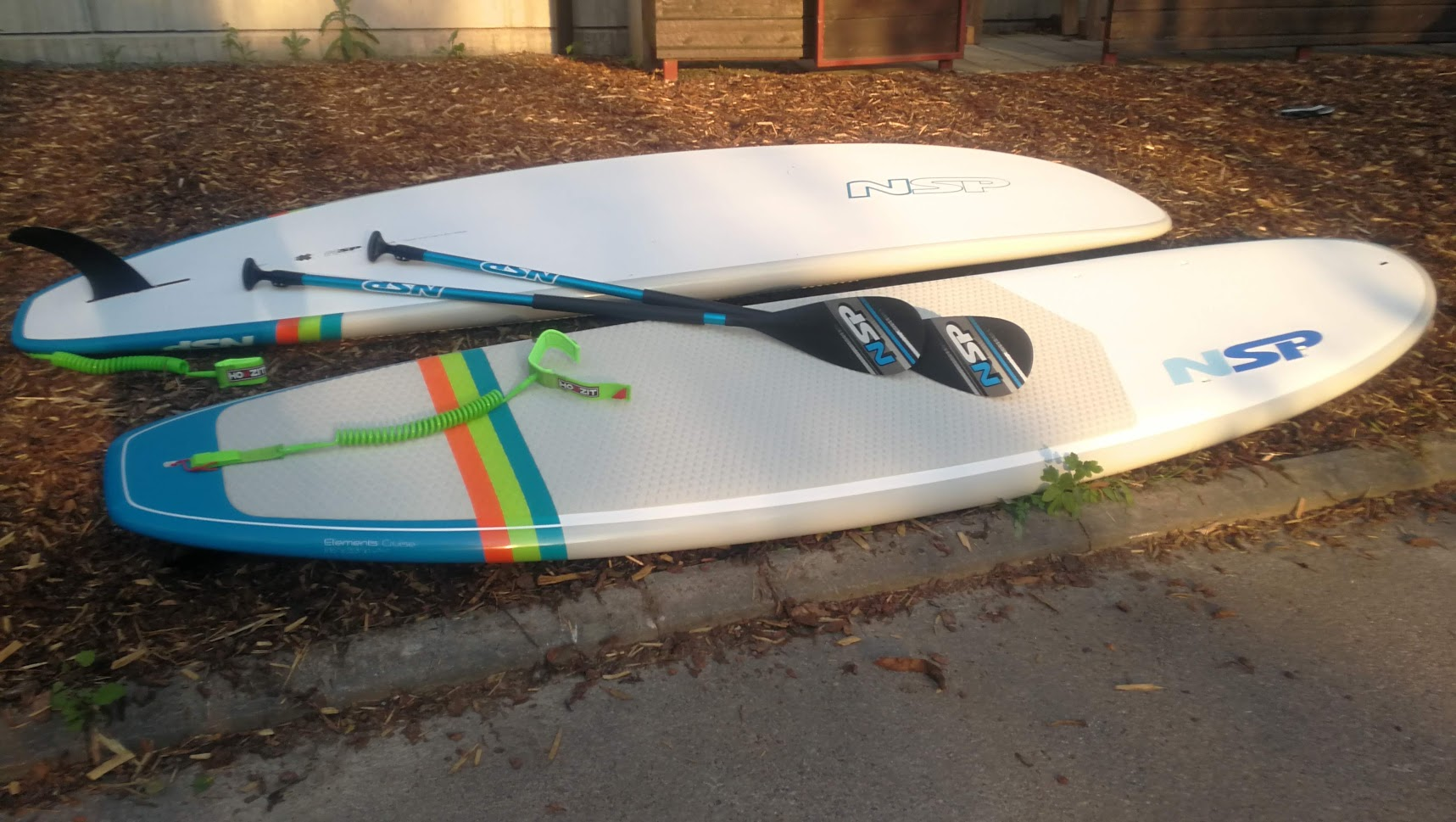 two sup boards